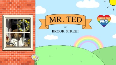 The cover image used on Mr Ted's Facebook page